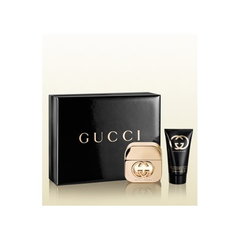 9ab4beddd Gucci Gucci Guilty for Her Gift Set 30ml EDT + 50ml Body Lotion - Gucci  from Direct Beautique UK