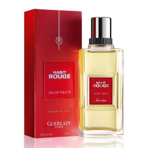 Guerlain Habit Rouge EDP 100ml Spray