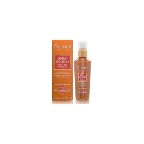 Guinot 150ml Spray Bronze Oil-Free Sunscreen SPF15