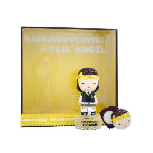 Gwen Stefani Harajuku Lovers Lil Angel Gift Set 30ml EDT + 1.2g Solid Perfume