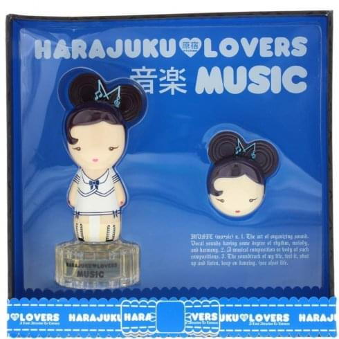 Gwen Stefani Harajuku Lovers Music Gift Set 30ml EDT + 1.2g Solid Perfume