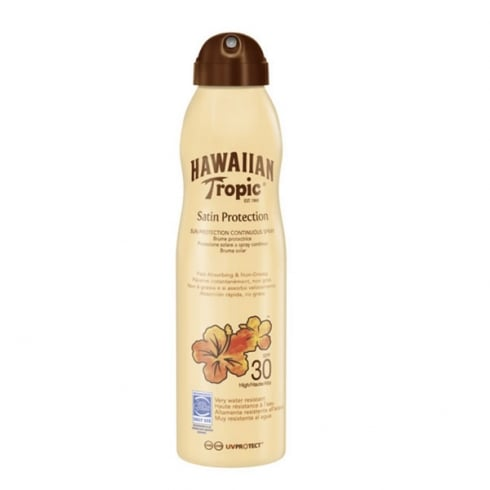 Hawaiian Tropic Satin Protection Sun Protection Continous Spray SPF30 220ml