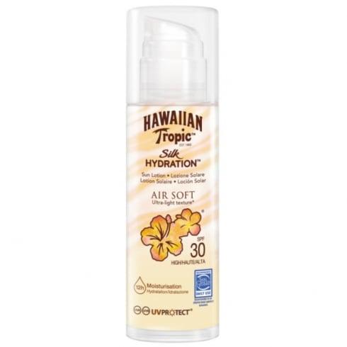 Hawaiian Tropic Silk Hidration Air Soft Sun Lotion SPF30  150ml