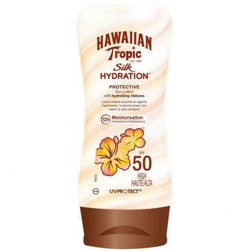 Hawaiian Tropic Silk Hydration Protective Sun Lotion SPF50 Very High 180ml