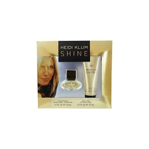 Heidi Klum Shine Gift Set 15ml EDT + 75ml Body Lotion