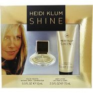 Heidi Klum Shine Gift Set 15ml EDT + 75ml Body Lotion