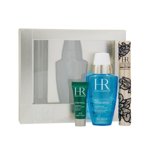 Helena Rubinstein Lash Queen Sexy Gift Set 7.2ml Mascara + 50ml All Mascaras! Eye Make-Up Remover + 3ml Prodigy Eye Care