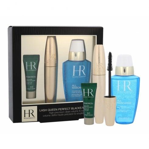 Helena Rubinstein Lash Queen Wonder Blacks Mascara Gift Set 7ml Mascara + 50ml All Mascaras Make-Up Remover + 3ml Prodigy Eye Care