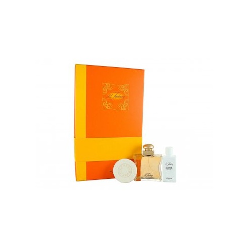 Hermes 24 Faubourg Gift Set 50ml EDT + 40ml Body Lotion + 50g Soap