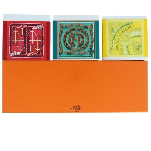 Hermes Cologne 3 X 100Gm Soap Eau De Neroli Dors - Eau D'Orange