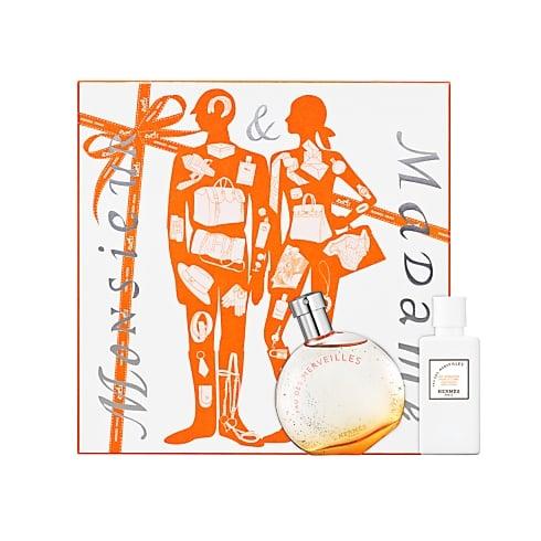 Hermes Eau Des Merveilles Gift Set 50ml EDT + 40ml Body Lotion