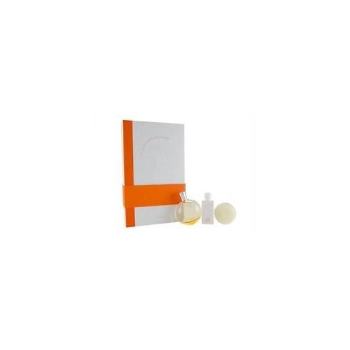 Hermes Eau Des Merveilles Gift Set 50ml EDT + 40ml Body Lotion + 50g Soap