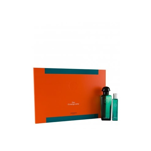 Hermes Eau d'Orange Verte Gift Set 100ml EDC + 15ml EDC