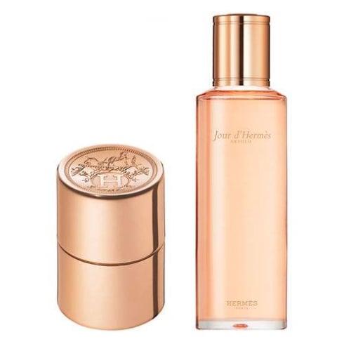 Hermes Jour d'Hermes Absolu Gift Set 125ml EDP Refill + 10ml EDP Refillable Purse Spray
