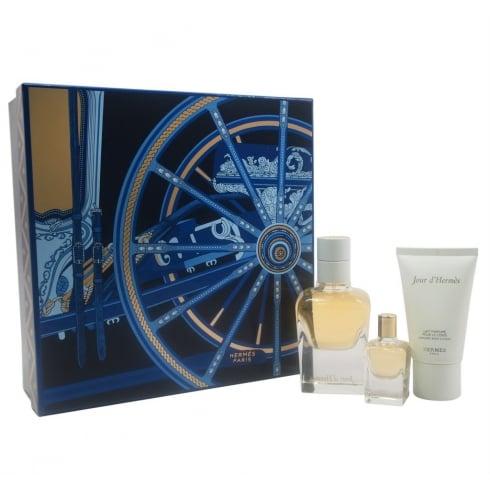 Hermes Jour d'Hermes Gift Set 50ml EDP Spray + 7.5ml EDP + 30ml Body Lotion