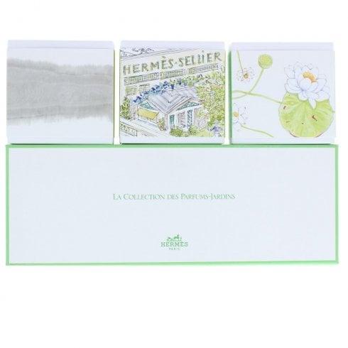 Hermes Le Jardin De Monsieur Set Soap 3X100G
