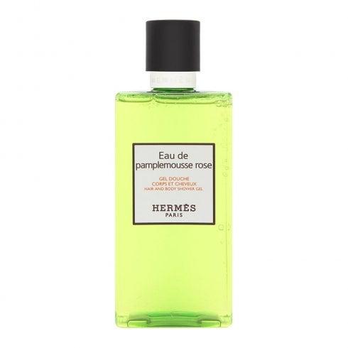 Hermes Pamplemousse Rose Hair And Body Shower Gel 200ml