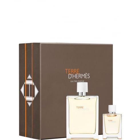 Hermes Terre d'Hermes Eau Tres Fraiche Gift Set - 125ml EDT Spray + 12.5ml EDT Spray