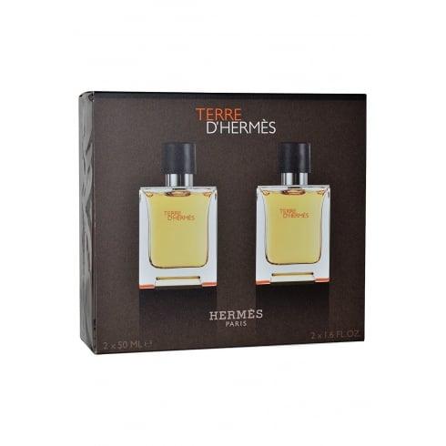 Hermes Terre D'Hermes Gift Set 2 x 50ml EDT
