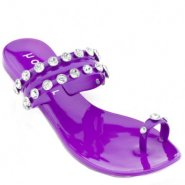 Holster Duchess Jelly Sandals - Purple