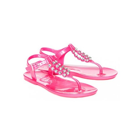 Holster Kids Hot Pink Jelly Sandals