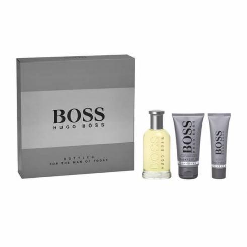 Hugo Boss Boss Bottled EDT Spray 100ml Set 3 Pieces