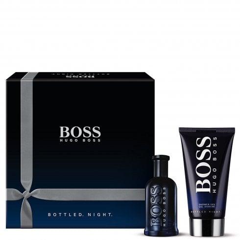 Hugo Boss Boss Bottled Night Gift Set 50ml EDT + 100ml Shower Gel