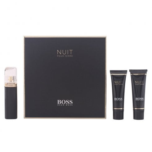 Hugo Boss Boss Nuit Pour Femme Gift Set 30ml EDP Spray + 100ml Body Lotion