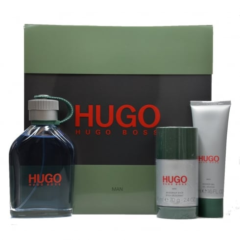 Hugo Boss Hugo Man 75ml EDT Spray / 75ml Deodorant Stick
