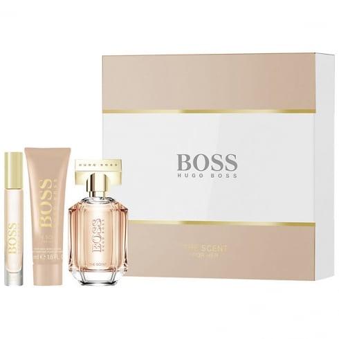 Hugo Boss The Scent for Her Gift Set 50ml EDP + 50ml Body Lotion + 7.4ml EDP