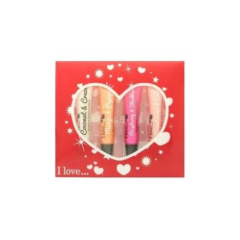 I Love I Love... Lipgloss Gift Set 4 x 15ml Lipgloss