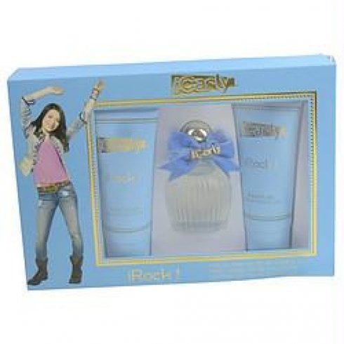 iCarly iRock Gift Set 100ml EDP + 150ml Shower Gel + 150ml Body Lotion