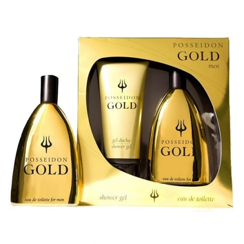 Instituto Espanol Instituto Español Posseidon Gold Men EDT Spray 150ml Set 2 Pieces