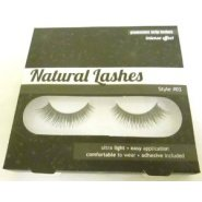 Invogue Natural Lashes Glamorous Strip Lashes - Style 3