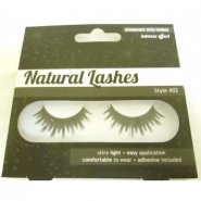 Invogue Natural Lashes Glamorous Strip Lashes - Style 2