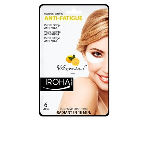 Iroha Nature Anti Fatigue Hydrogel Patches Vitamin C 6 Units