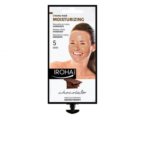 Iroha Nature Moisturizing Creamy Mask Chocolate 5 Uses