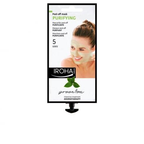 Iroha Nature Purifying Peel Off Green Tea 5 Uses