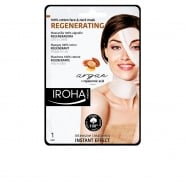 Iroha Nature Regenerating Cotton Face And Neck Mask Argan Oil 1 Unit