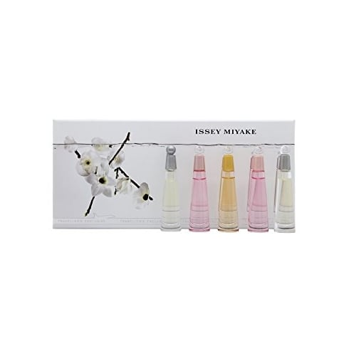 Issey Miyake 3.5ml, 2 x Issey Florale 3.5ml, Absolue 3.5ml, L'Eau D'Issey 3.5ml Set