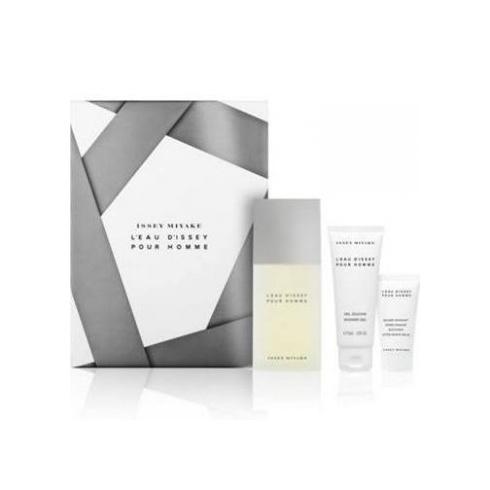 Issey Miyake for Men 75ml EDT Spray / 75ml Shower Gel / 30ml After Shave Balm