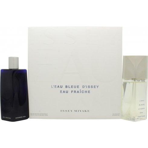Issey Miyake L'Eau Bleue d'Issey Pour Homme Eau Fraiche Gift Set 75ml EDT + 200ml Shower Gel