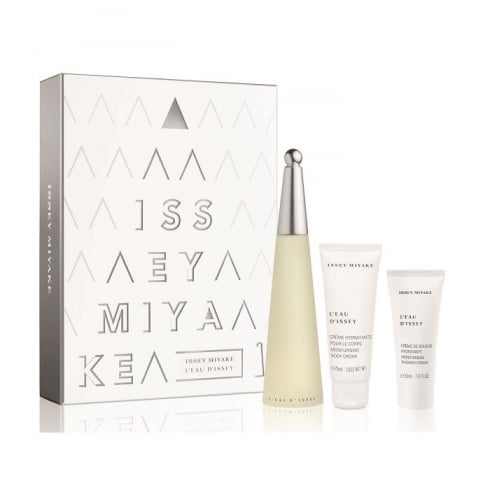 Issey Miyake L'Eau D'Issey EDT Spray 100ml Set 3 Pieces 2016
