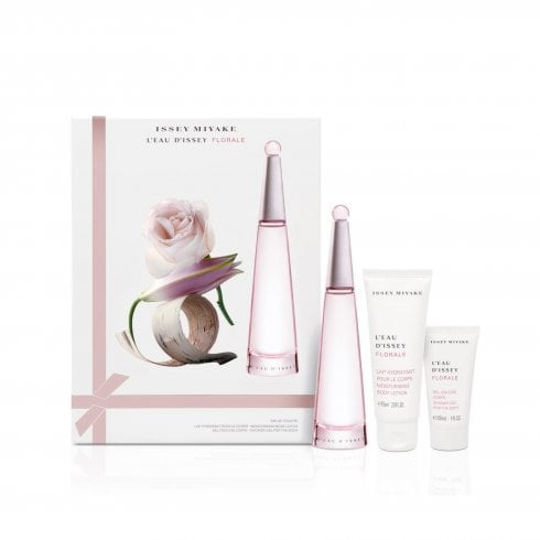 Issey Miyake L'Eau d'Issey Florale Gift Set 50ml EDT + 7.5ml EDT