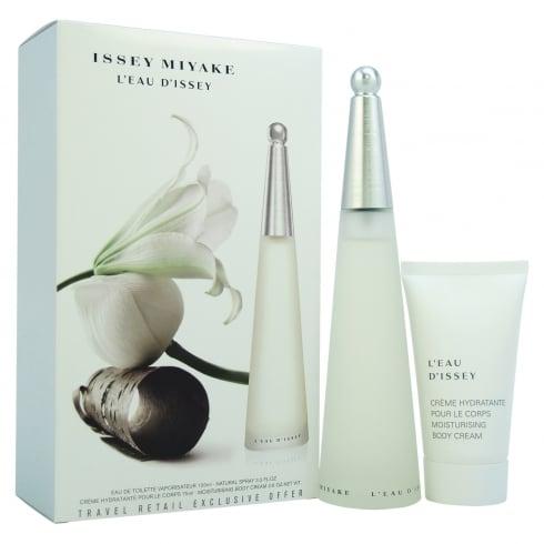 Issey Miyake L'Eau d'Issey Gift Set - 100ml EDT Spray + 75ml Body Cream