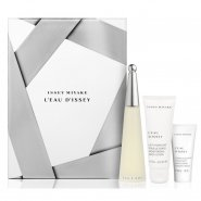 Issey Miyake L'Eau D'Issey Ladies 50ml EDT Spray + 75ml Body Lotion + 30ml Shower Cream