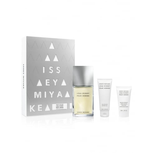 Issey Miyake L'Eau d'Issey Pour Homme Fraiche Gift Set - 100ml EDT + 75ml Shower Gel + 50ml Aftershave Balm