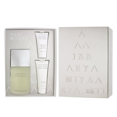 d0f4c89124 Issey Miyake L'Eau d'Issey Pour Homme Gift Set 125ml EDT + 75ml Shower Gel  + 50ml Aftershave Balm - Issey Miyake from Direct Beautique UK