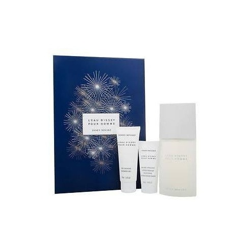 fbaef60bd8 Issey Miyake Issey Miyake L'Eau d'Issey Pour Homme Gift Set 125ml EDT + 75ml  Shower Gel + 50ml Aftershave Balm - Issey Miyake from Direct Beautique UK