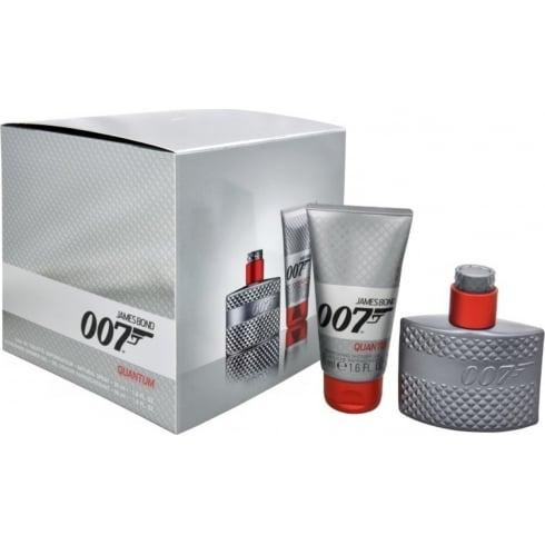 James Bond 007 Quantum Gift Set 30ml EDT Spray + 50ml Shower Gel